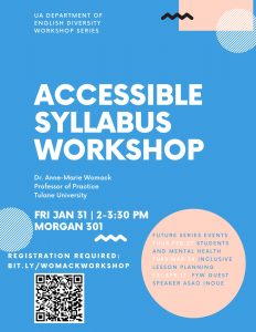 Accessible Syllabus Workshop